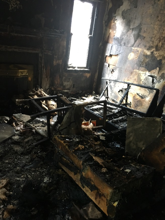 Burnt Living Room
